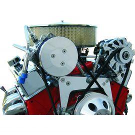 Vintage Air - ProLineTM Bracket Compressor/Alternator for Long Water Pump