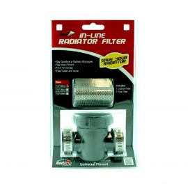 "UNIVERSAL IN-LINE RADIATOR FILTER - 1 1/2"" - 38MM"