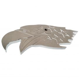 STAINLESS STEEL INTERIOR REAR VIEW VISION MIRROR EAGLE WITH FITTINGS