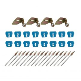 FORD XW XY SILL MOULD KIT WITH RIVETS