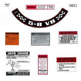 FORD XC ZH 5.8 V8 DECAL KIT