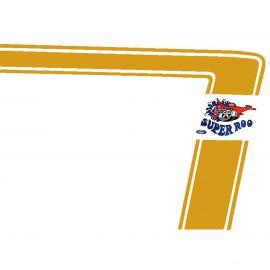 FORD XW FALCON SEDAN GT GOLD SUPER ROO STRIPE DECAL KIT