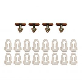 FORD XW BOOT MOULD CLIP KIT