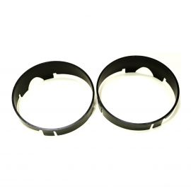 FORD XB GT PLASTIC DRIVING LIGHT RINGS FOR THE GRILLE (PAIR)