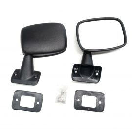 DOOR MIRROR MIRRORS LEFT & RIGHT PAIR FOR TOYOTA HILUX LN50 RN50