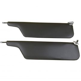 FORD CONCOURS BLACK SUNVISORS (PAIR)