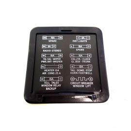 HOLDEN HQ-HZ FUSE BOX COVER LID