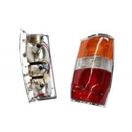 MITSUBISHI TRITON L200 MIGHTY MAX PICKUP UTE 1979-1987 TAILLIGHTS LAMPS PAIR