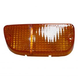 MAZDA RX2 RX3 RX4 808 929 RIGHT PARK LAMP LENS ORANGE