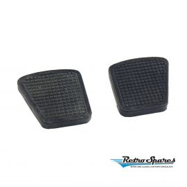 FORD ZEPHYR MK3 MKIII BRAKE & CLUTCH PEDAL PAD RUBBERS (PAIR)