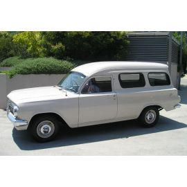 HOLDEN EJ PANELVAN RUBBER PACK - STAINLESS STEEL BAILEY CHANNEL