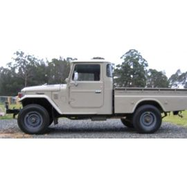 TOYOTA LANDCRUISER UTE BJ FJ 45 SERIES RUBBER PACK/KIT WITH VENT WINDOWS