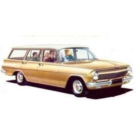 HOLDEN EJ WAGON RUBBER PACK / KIT - FLOCKED BAILEY CHANNEL