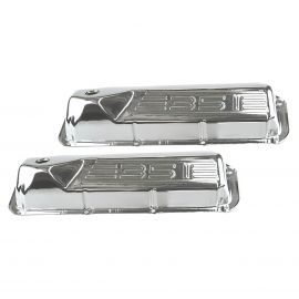 FORD CLEVELAND 351 CHROME ROCKER COVERS PAIR