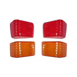 FORD FAIRLANE ZD REAR TAILLIGHT LENSES OF 4