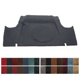 UNMOULDED BOOT CARPET FOR FORD XK XL XM XP SEDAN/COUPE - FUEL FILLER ON RIGHT 1960 - 1966